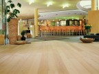 Hardwood floor parquet, larch